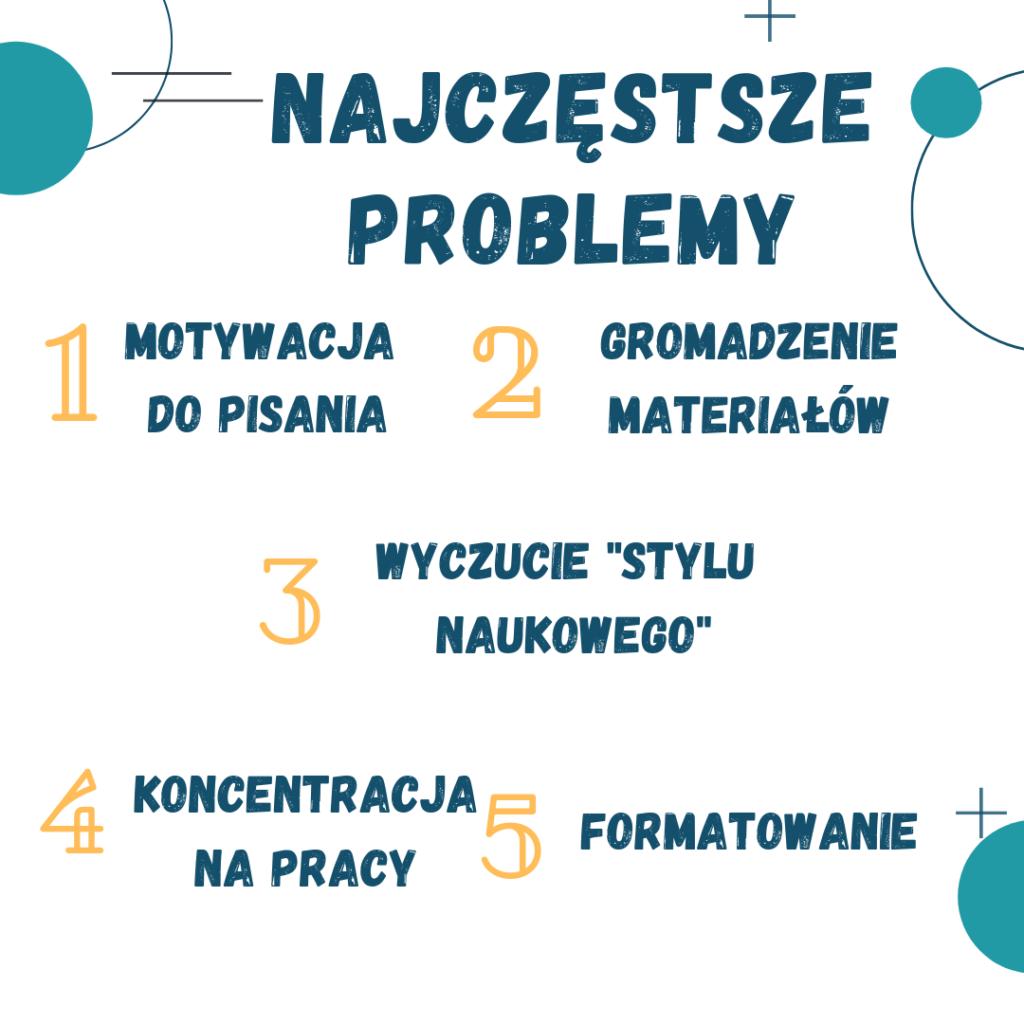 Jak pisać? Najczęstsze problemy zpisaniem