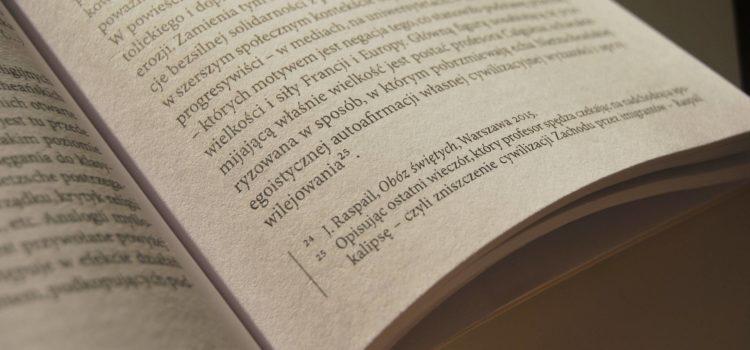 Przypisy inne niż bibliograficzne – zobacz przykłady