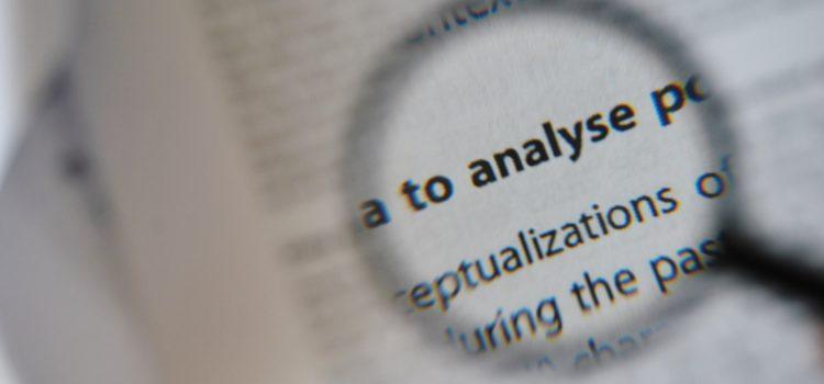 tekst analityczny