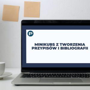 Minikurs - Przypisy i bibliografia
